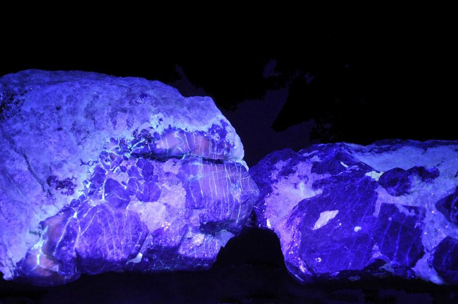 UV Licht in der Mineralogie