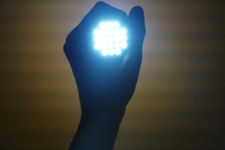 Helle LED Lampe